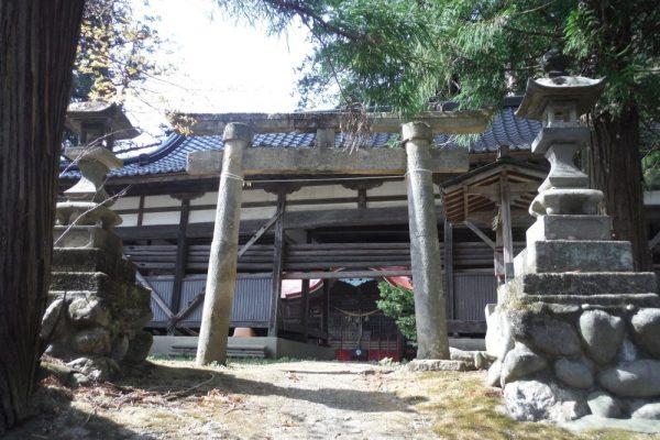 地守神社の鳥居