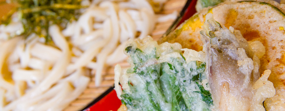 旬の野菜・山菜と天ぷら